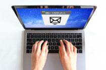 WEB面接案内メール